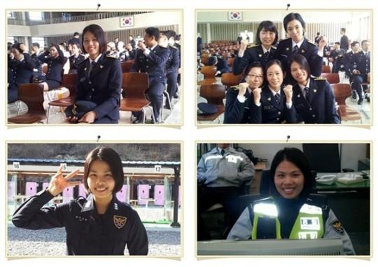 Nữ cảnh sát người Việt đầu tiên tại Hàn Quốc gây sốt dân mạng 1